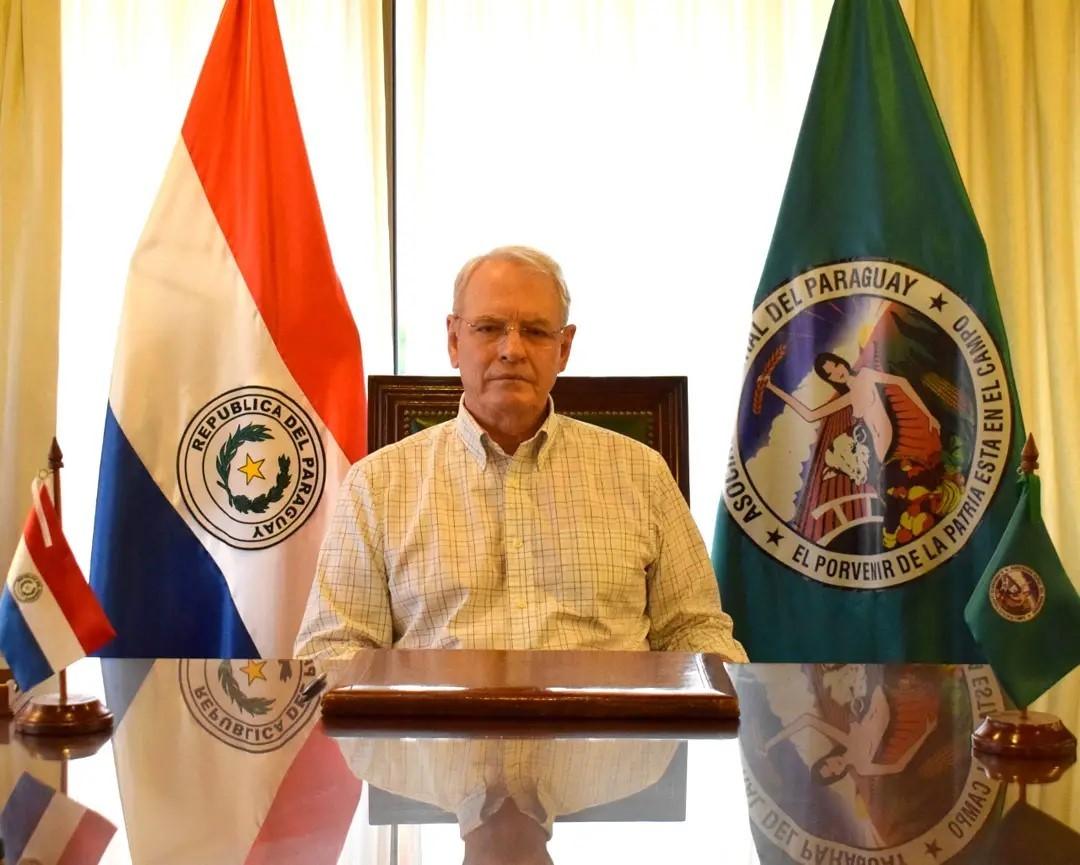 Dr. Pedro Galli, presidente de la Asociación Rural del Paraguay